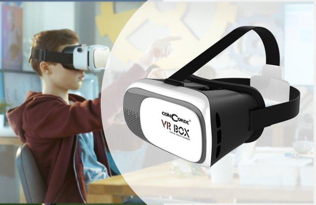 ConCorde virtuális valóság szemüveg, VR BOX V 2.0
