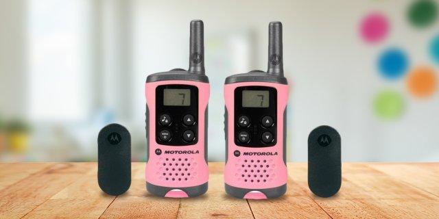 Motorola adó-vevő készülék, pink + több színben