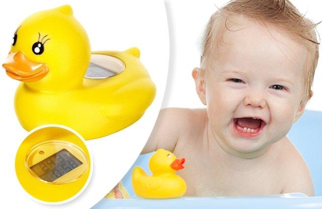 TOPCOM vízhőmérő játékkacsa