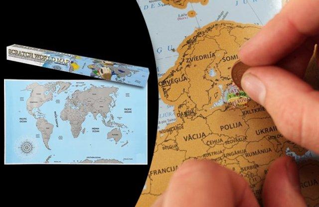 Kaparós világtérkép, OOTB