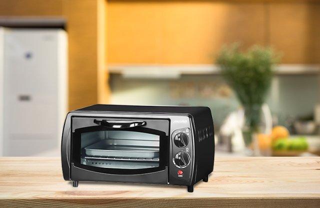 Mesko mini grill, 1000W, fekete