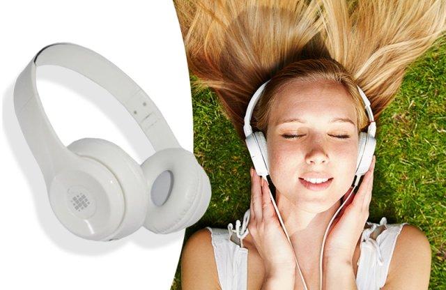 Összecsukható fejhallgató és headset , fehér + több színben