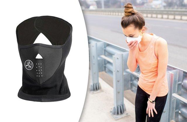 Arcvédő maszk légszűrővel, szürke + többféle színben