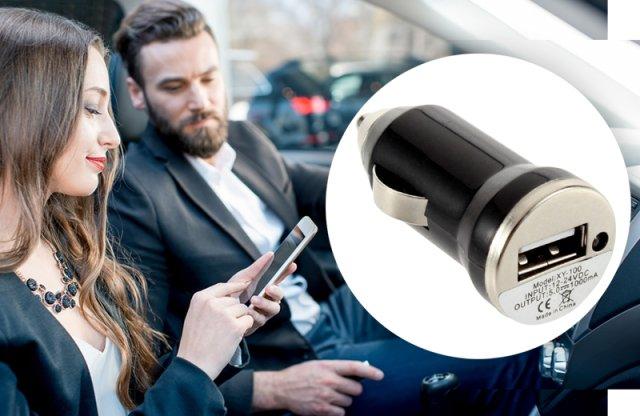 Univerzális szivargyújtó autós töltő USB kimenettel