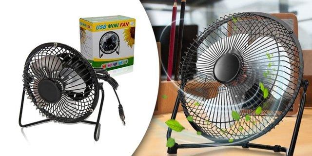 Asztali ventilátor, USB csatlakozós