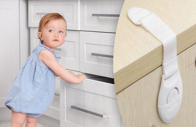 Gyerekzár hűtőre, szekrényre